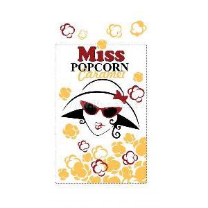 Зерно кукурузы премиальное (сорт карамель) «MISS POPCORN», 22.68 кг